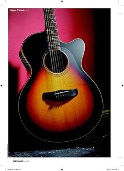 Guitarist Yamaha CPX1200