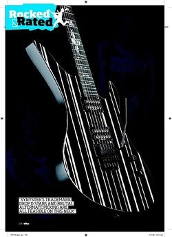 Total Guitar Schecter Diamond Series Synyster Custom