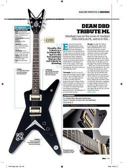 Total Guitar Dean DBD Tribute ML