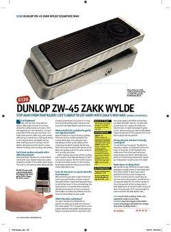Total Guitar DUNLOP ZW45 Zakk Wylde