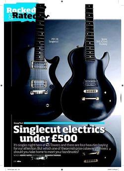 Total Guitar Epiphone Prophecy Les Paul EX