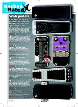 Total Guitar Dunlop Zakk Wylde Wah