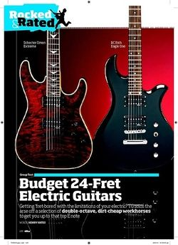 Total Guitar Schecter Omen Extreme