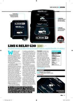 Total Guitar Line 6 Relay G30
