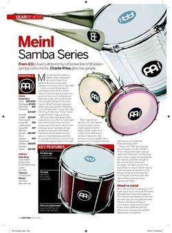 Rhythm Meinl Samba Series
