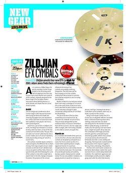 Rhythm ZILDJIAN EFXCYMBALS
