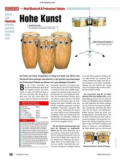 Soundcheck Test: Meinl Woodcraft & Professional Timbales