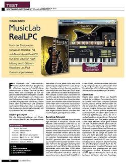 KEYS MusicLab RealLPC