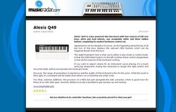 MusicRadar.com Alesis Q49