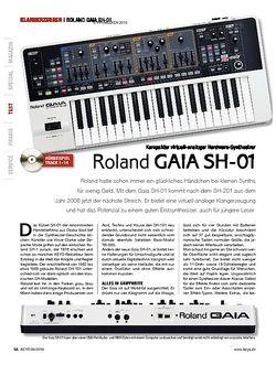 KEYS Roland GAIA SH-01