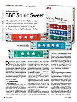 KEYS BBE Sonic Sweet