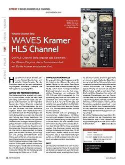 KEYS WAVES Kramer HLS Channel
