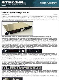 Amazona.de Test: Bricasti Design M7 V2