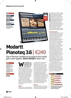 Future Music Modartt Pianoteq 3.6
