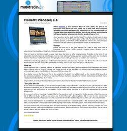 MusicRadar.com Modartt Pianoteq 3.6