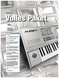 Tastenwelt Test: Ketron Audya 5 - Volles Paket