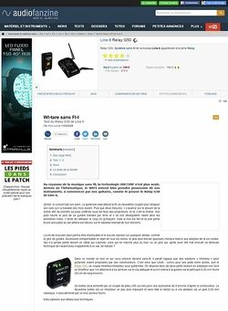 Audiofanzine.com Line 6 Relay G50