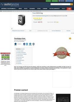 Audiofanzine.com Focal CMS 65