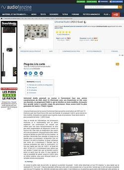 Audiofanzine.com Universal Audio UAD-2
