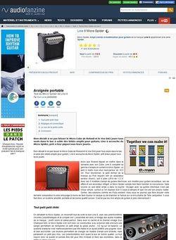 Audiofanzine.com Line 6 Micro Spider