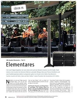 Soundcheck Test: HK Audio Elements (Teil 3) - Elementares