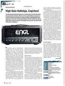 Guitar gear Amp - Engl Gig Master E315