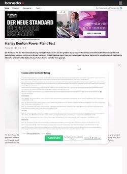 Bonedo.de Harley Benton Power Plant