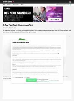 Bonedo.de T-Rex Fuel Tank Chameleon
