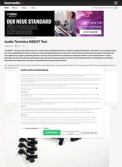 Bonedo.de Audio Technica MBDK7