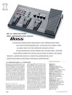 Gitarre & Bass Boss ME-25, Multieffekt