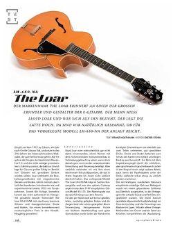 Gitarre & Bass The Loar LH-650-NA