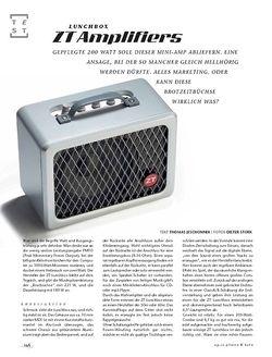 Gitarre & Bass ZT Amplifiers Lunchbox