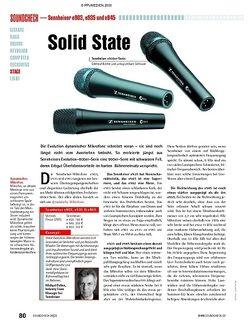 Soundcheck Sennheiser e903, e935 und e945