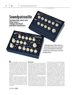 Keyboards Vermona Kick Lancet und Mono Lancet - analoge Bassdrum- und Mono-Synthesizer