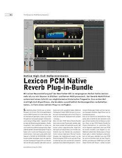 Sound & Recording Lexicon PCM Native Reverb Plug-in-Bundle