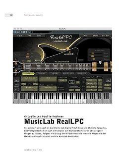 Sound & Recording MusicLab RealLPC