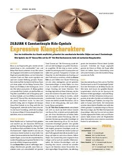 Sticks Zildjian K Constantinople Ride-Cymbals