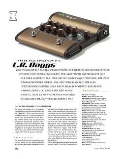 Gitarre & Bass L.R.Baggs Venue Full Isolation D.I.