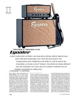 Gitarre & Bass Egnater Tweaker Top & Box