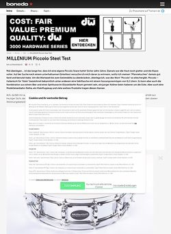 Bonedo.de Millenium Piccolo Steel