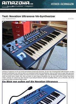 Amazona.de Novation Ultranova Synthesizer
