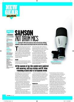 Rhythm Samson 7KIT Drum Mics