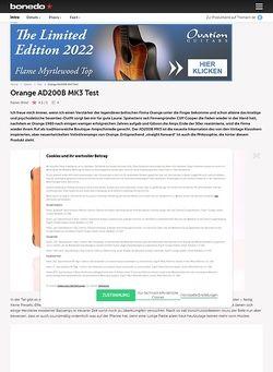 Bonedo.de Orange AD200B MK3