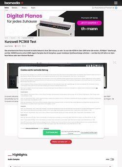 Bonedo.de Kurzweil PC3K8