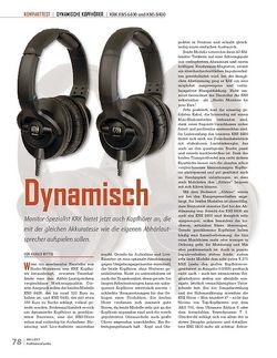 Professional Audio Dynamisch KRK KNS 6400 und KNS 8400