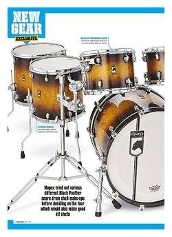 Rhythm Mapex Black Panther Velvetone Kit