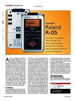 KEYS Roland R-05