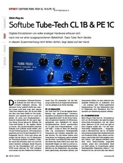 KEYS Softube Tube-Tech CL 1B & PE 1C