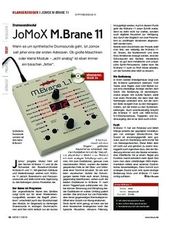 KEYS JoMoX M.Brane 11