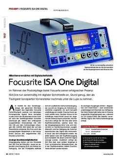 KEYS Focusrite ISA One Digital